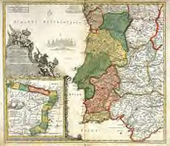 Portugalliæ et Algarbiæ cum finitimis Hispanniæ regnis
