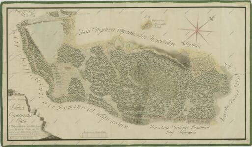 Geometrický plán lesů, deputátních a činžovních pozemků a rybníků Velký a Malý Jílovický 1