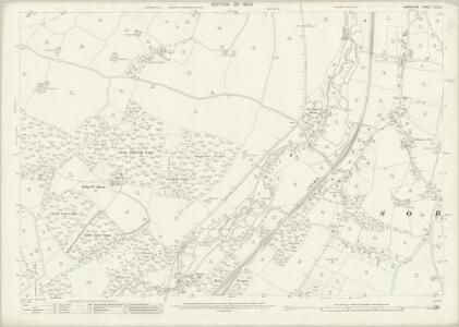 Hampshire and Isle of Wight LXVII.2 (includes: Droxford; Soberton; Swanmore) - 25 Inch Map