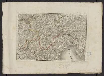 Théatre de la guerre actuelle, en Allemagne, en Pologne et en Turquie. n17, Lac de Constance et Venise