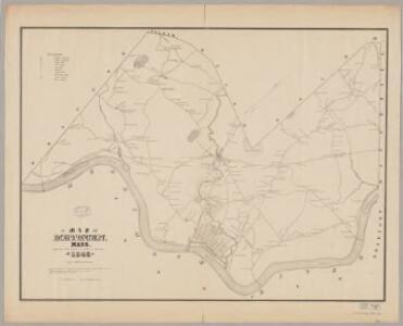 Map of Methuen, Mass
