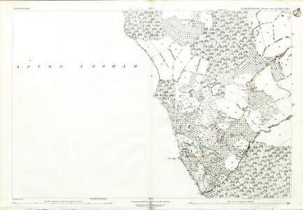 Gloucestershire XXIV.1 (includes: Aston Ingham; Newent) - 25 Inch Map