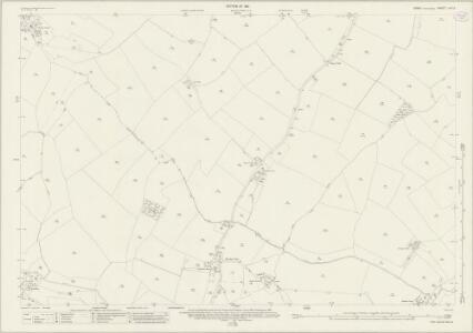 Essex (New Series 1913-) n XV.3 (includes: Finchingfield; Stambourne; Toppesfield) - 25 Inch Map