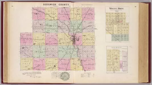 Sedgwick County, Mount Hope and Derby, Kansas.