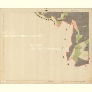 Beneschau - c0113-2-007 - Kaiserpflichtexemplar der Landkarten des stabilen Katasters
