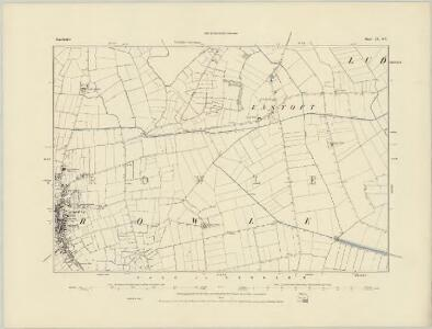 Leicestershire LIII.NE - OS Six-Inch Map