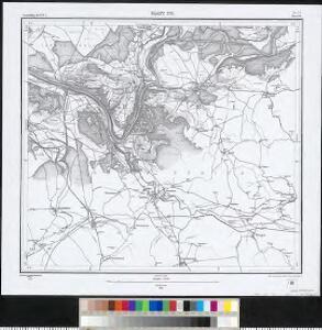 Meßtischblatt [8417] : Blatt 170, 1883