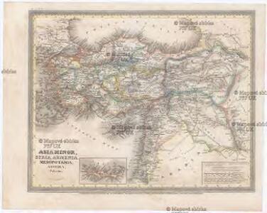 ASIA MINOR, SYRIA, ARMENIA, MESOPOTAMIA, ASSYRIA, Palestina