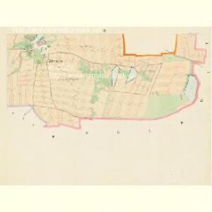 Zwozna - c2453-1-002 - Kaiserpflichtexemplar der Landkarten des stabilen Katasters