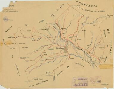 Mapa planimètric de Tordera