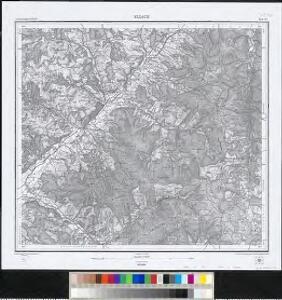 Meßtischblatt [7814] : Elzach, 1884