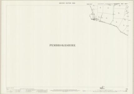 Cardiganshire XXXVII.7 (includes: Cardigan; Monington; St Dogmaels) - 25 Inch Map