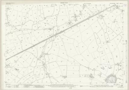 Staffordshire XXXVII.13 (includes: Bradley; Castle Church; Haughton; Seighford) - 25 Inch Map