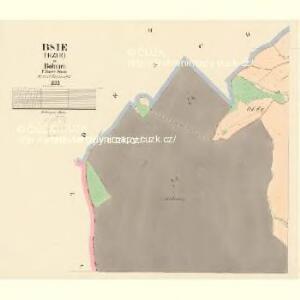 Bsie (Bzie) - c0729-1-002 - Kaiserpflichtexemplar der Landkarten des stabilen Katasters