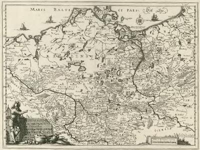 Brandenburgum Marchionatus, cum Ducatibus Pomeraniae et Mekelenburgi