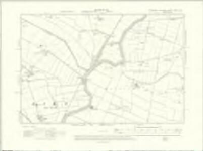 Yorkshire CXCVI.NW - OS Six-Inch Map