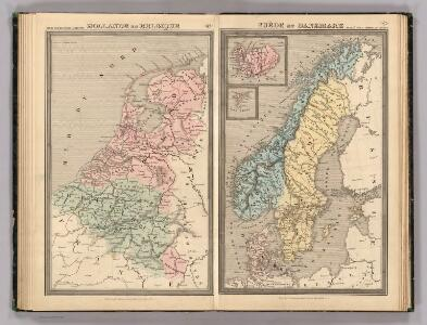 Hollande et Belgique, Suede et Danemark.