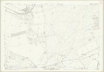 Cornwall XLVIII.8 (includes: Newlyn; St Allen; St Erme) - 25 Inch Map