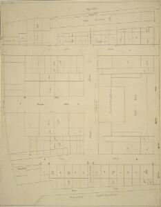 A plan of the property belonging to the Duke of Norfolk in the Strand