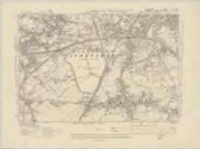Lancashire CV.SW - OS Six-Inch Map
