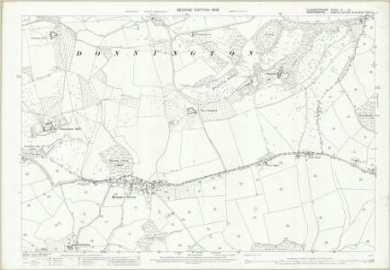 Gloucestershire X.10 (includes: Bromsberrow; Donnington; Dymock) - 25 Inch Map