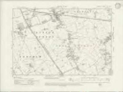 Cheshire XXXI.NW - OS Six-Inch Map