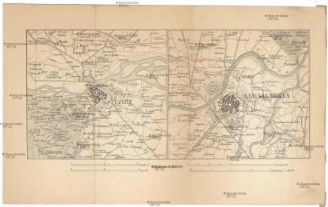 Special-Karte des Kriegsschauplatzes in Sardinien