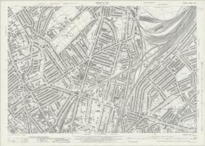Surrey XIV.6 (includes: Croydon St John The Baptist) - 25 Inch Map