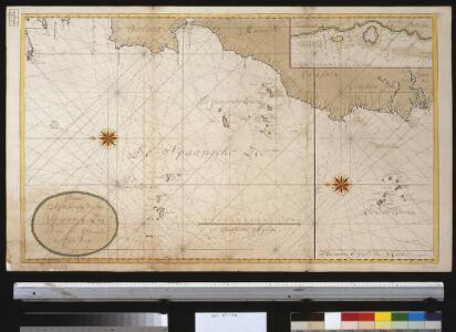 Nieuwe afteekening van de Spaanse Zee van het Canaal tot Cabo Verde
