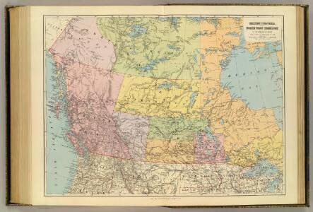 British Columbia, North West Territory.