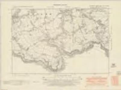 Glamorgan XXXII.NW & SW - OS Six-Inch Map