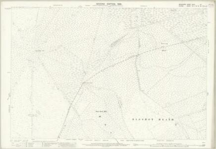 Berkshire XLVII.10 (includes: Crowthorne; Easthampstead; Frimley; Windlesham; Winkfield) - 25 Inch Map