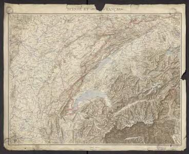 Géographie. croquis n26, Suisse et Jura français