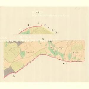 Petersdorf (Petrowice) - m0900-1-006 - Kaiserpflichtexemplar der Landkarten des stabilen Katasters
