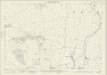 Worcestershire XXX.2 (includes: Feckenham; Stock and Bradley) - 25 Inch Map
