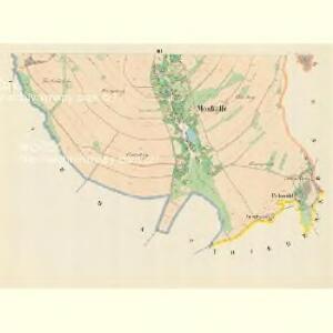 Moskelle (Moskow) - m1889-1-003 - Kaiserpflichtexemplar der Landkarten des stabilen Katasters