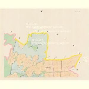 Przeseka - c6205-1-004 - Kaiserpflichtexemplar der Landkarten des stabilen Katasters