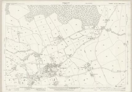 Yorkshire CCLXXIV.1 (includes: Cawthorne; Darton) - 25 Inch Map