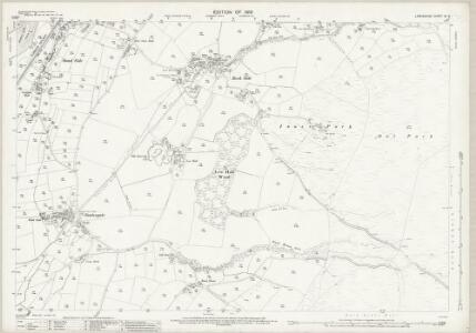 Lancashire XI.9 (includes: Angerton; Kirkby Ireleth) - 25 Inch Map