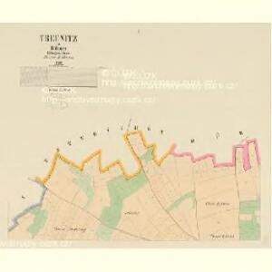 Treunitz - c1556-1-001 - Kaiserpflichtexemplar der Landkarten des stabilen Katasters