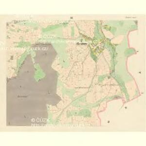 Blisanow (Bližanow) - c0285-1-002 - Kaiserpflichtexemplar der Landkarten des stabilen Katasters