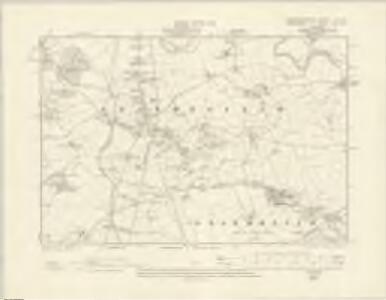 Montgomeryshire XI.SW - OS Six-Inch Map