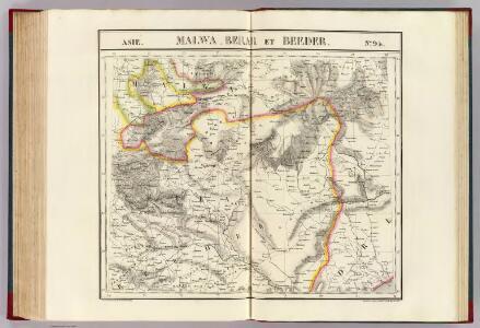 Malwa, Berar et Beeder. Asie 94.