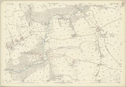 Devon XLII.10 (includes: Ashreigney; Winkleigh) - 25 Inch Map