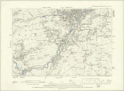 Yorkshire CC.NW - OS Six-Inch Map