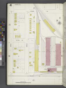 Queens V. 4, Plate No. 41 [Map bounded by Stewart Ave., Long Island R.R. repair shops, Atlantic Ave., Beech]