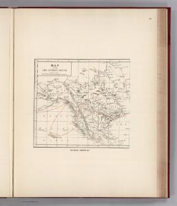 Facsimile:  Sir George Simpson's Map.