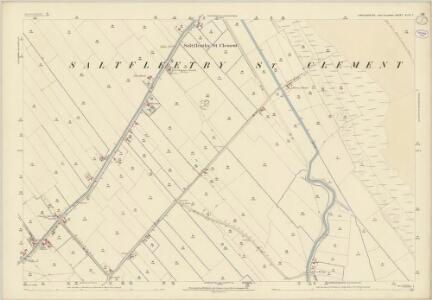 Lincolnshire XLIX.7 (includes: Saltfleetby All Saints; Saltfleetby St Clement; Theddlethorpe All Saints) - 25 Inch Map