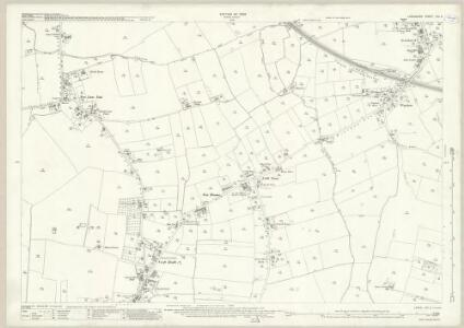 Lancashire CIX.2 (includes: Croft; Golborne) - 25 Inch Map