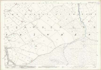 Lancashire LVII.6 (includes: Trawden) - 25 Inch Map